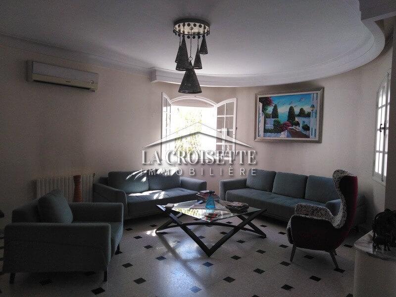 Une villa à La Marsa cité des Juges